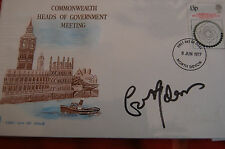 GERRY ADAMS SIGNED BRITISH HEADS OF GOVERNMENT FDC 1977