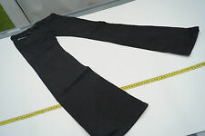 Ronhary DIESEL Jeans Donna Pantaloni anca Stretch 28/34 w28 l34 NERO BLACK TOP #46