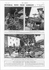 1914 I PROIETTORI Charing Cross Lambeth PONTE NUOVO TIPO TEDESCO MACHINE GUN