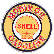 Shell Gasoline Motor Oil Retro Vintage Tin Sign Wall Art