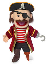 "14"" Pro Puppets/Full Body Hand Puppet Pirate"