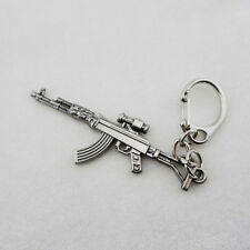 Mini Assault Rifle AK-47-S KEYCHAIN Cross Fire & CF CS Gun AK47 Charm Key Ring