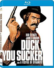 A FISTFUL OF DYNAMITE (James Coburn) DUCK YOU SUCKER -  Blu Ray - Region free