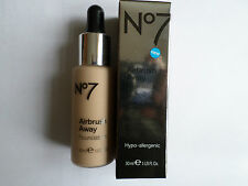 No7 AIRBRUSH AWAY FOUNDATION 30ml SHADE : SOFT ROSE NEW