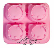 HELLO KITTY MOULD CAKE JELLY CupCake SILICONE MOLD DECORATION SOAP