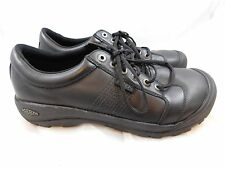 Keen Men's Austin Shoes  14  Black Oxfords Lace Ups