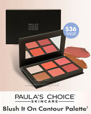 Paula's Choice Blush It On Contour Palette Blush Highlighter Bronzer Kit $36