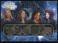 2013 UD Marvel Thor The Dark World Movie QUAD Relics - Thor/Foster/Sif/Darcy