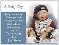 20 Baby BOY Shower INVITATIONS Post Cards POSTCARDS