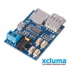 TF CARD U DISK MP3 FORMAT DECODER MODULE AMPLIFIER DECODING AUDIO PLAYER BE0300