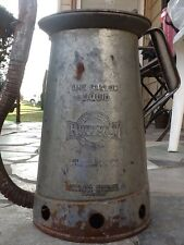 Vintage HUFFMAN One Gallon Liquid Oil Can Flexible Spout Oil Release Lever