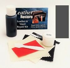 Air Dry Leather & Vinyl Repair Kit DARK GRAY Color Repair Recolor & Restore