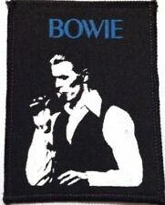 DAVID BOWIE sew on vintage printed patch