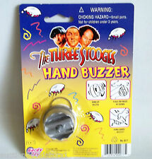 The Three Stooges Joke Hand Buzzer Shocker Prank Gag Toy Novelty Very Funny
