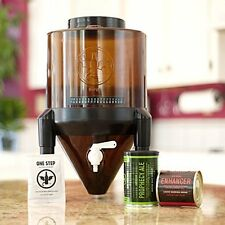 Conical Fermenting System Kit For Home Brew Beer, 2 Gal by BrewDemon