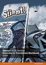 Stimmt! edexcel gcse allemand grammaire et traduction workbook, jon meier