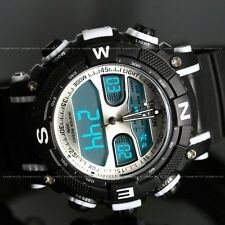 OHSEN Mens Women Digital Army Military Waterproof Sport Quartz Watch Chronograph
