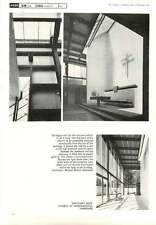 1967 Sanctuary Roof Church At Waterlooville Hampshire Michael Manser