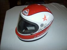 Vintage rare Clay Regazzoni 1980 Jeb's Italy factory production Formula 1 helmet