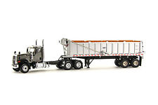 "Caterpillar CT680 Truck w/ East Dump Trailer - ""GRAY"" - 1/50 - WSI #39-1005"