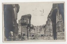 Italy, Roma, Termi di Caracalla Real Photo Postcard, A996