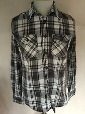 Superdry Mens Checked Long Sleeve Shirt Size L. Great Condition.