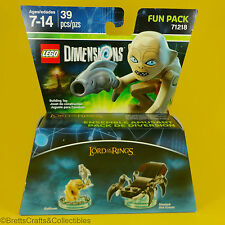 Lego Dimensions Set (71218) 3 in 1 - Lord of the Rings - Gollum Shelob the Great
