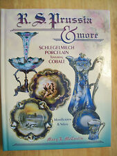 R.S. Prussia Porcelain Price Guide COLLECTOR BOOK NEW Schlegelmilch Cobalt $$$