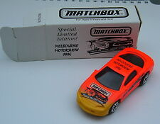 Matchbox-Superfast-Camaro z-28 - Melbourne motoshow 1996-Embalaje original -