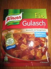 7  Bags Knorr Fix for Gulasch /Goulash fresh from Germany New
