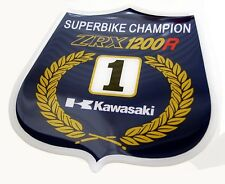 KAWASAKI superbike campeón zrx1200r ZRX 1200r 1100 Decal Sticker 3D Gel
