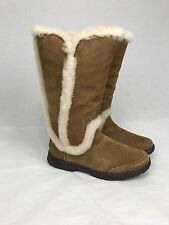 UGG KATIA CHESTNUT WATER-PROOF SUEDE SHEEPSKIN BOOTS US 6 WOMENS 1008030