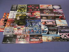 29 OLDSKOOL DNB JUNGLE RAVE FLYERS 1 ONE NATION METALHEADZ VALVE HYSTERIA PK 5