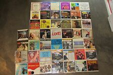 "COLLECTION LOT 45 X JUKEBOX PICTURE COVER 7"" VINYL LP 33 EP's Jazz Big Band Pop"