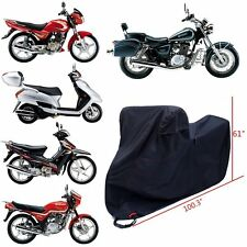 DTY & 300D Oxford Waterproof Motorcycle Cover 4 Lock-holes Design 2 Air Vents