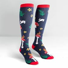 Sock It To Me Women's Knee High Socks - Wonderland