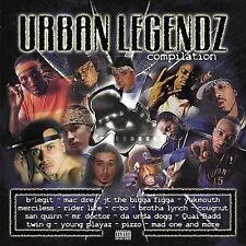 Audio CD Urban Legendz  - Various Artists LikeNew