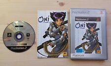 Oni Playstation 2 PS2 complet
