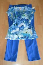 WOMENS PLUS SIZE CLOTHING Lot Of 3 Sz 16W XL Denim Pants Blouse Top Necklace