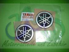 Yamaha DT125 DT 125 Aufkleber Sticker Label Tank 45 mm Stimmgabel Eblem 2 Stück