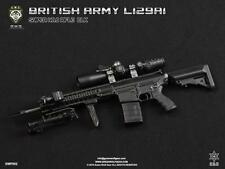 1/6 Green Wolf Gear British L129A1 Sniper Rifle in BLACK Mint Box Action Figure