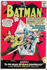 BATMAN #174 DC Silver Age HUMAN PUNCHING BAG FN/VF