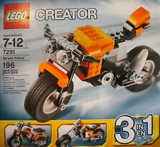 Lego 7291 Creator Street Rebel 193 pcs - 2012 NEW Sealed