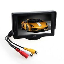 "4.3"" TFT LCD Colour Screen Car Monitor for CCTV Reversing Rearview backup Camera"