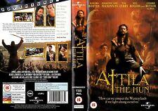 ATTILA THE HUN VHS PAL GERARD BUTLER,POWERS BOOTHE,TIM CURRY,ALICE KRIGE