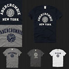 New Abercrombie & Fitch Men Muscle Fit Heritage Tee T Shirt Size S M L XL NWT