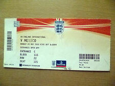 Tickets- 1986 FA Charity Shield- ENGLAND v FRANCE, 16 August