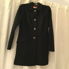 Juicy Couture Women's Black stylish Wool Coat Medium