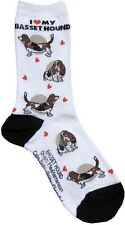 I Love My Basset Hound (631112) Women Size Socks