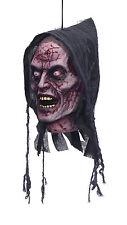 TESTA da appendere FANTASMA creatura soprannaturale festa di Halloween Decorazione Spaventosa